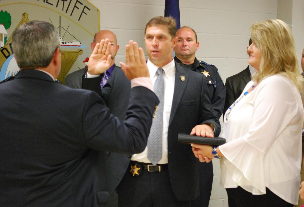 Chief Deputy Scott Anslum  - Swearing In.jpg