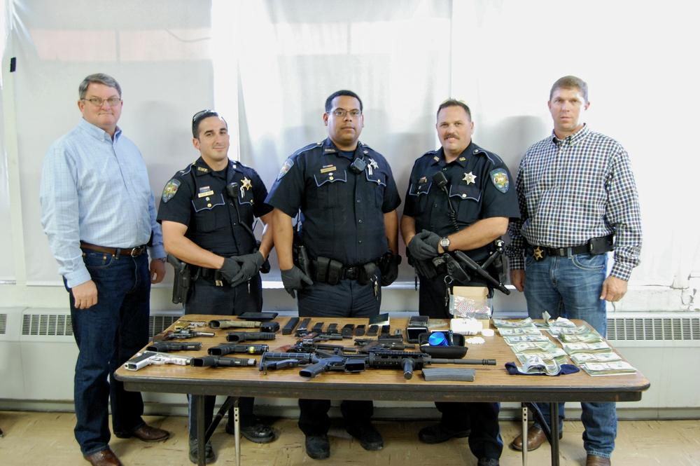 Sheriff & Deputies - Drug & Weapons Bust.jpg