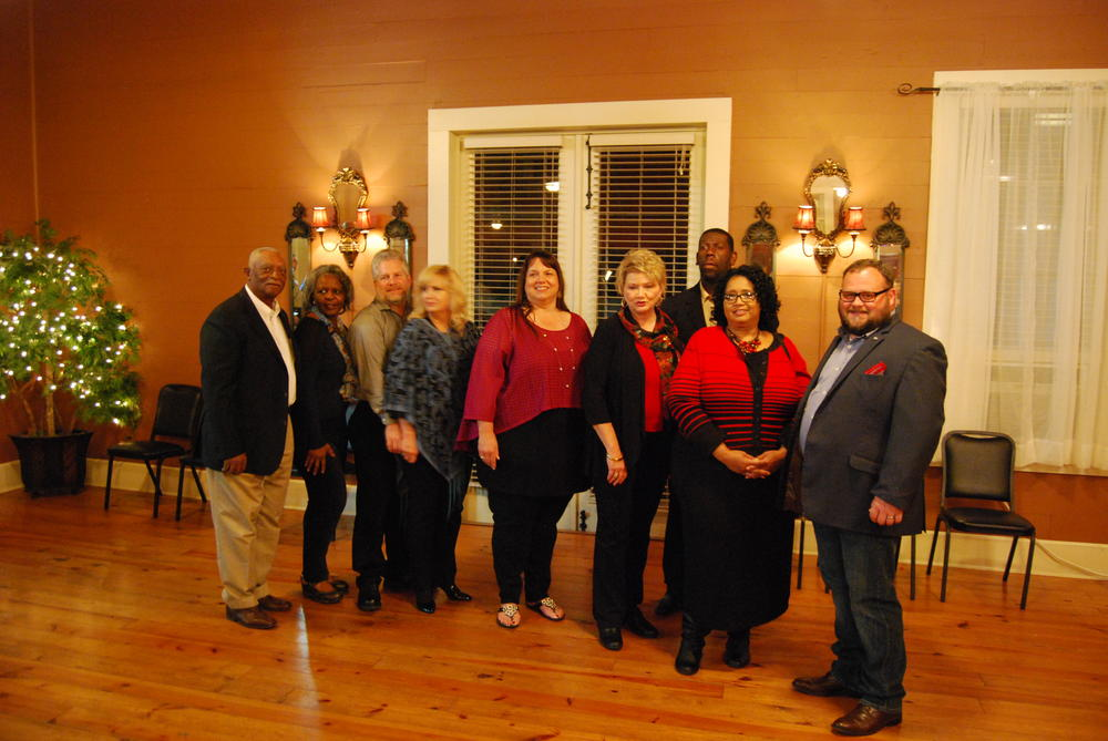 9 MADD St. Mary Chapter Board Members standing