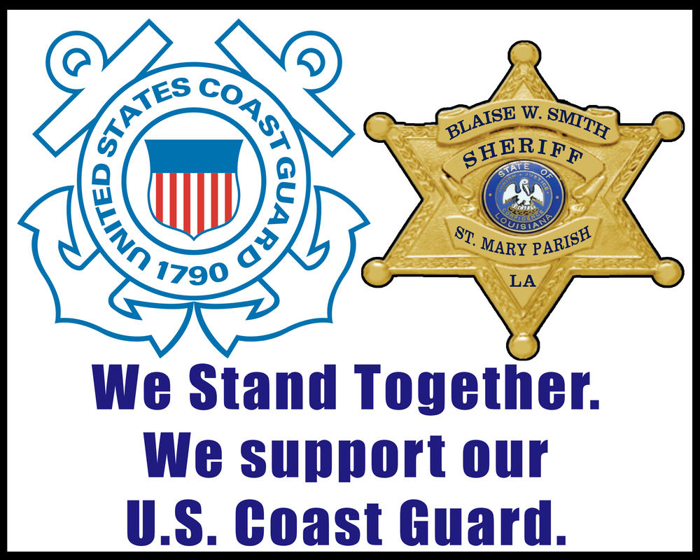 We stand together and support our coast guards