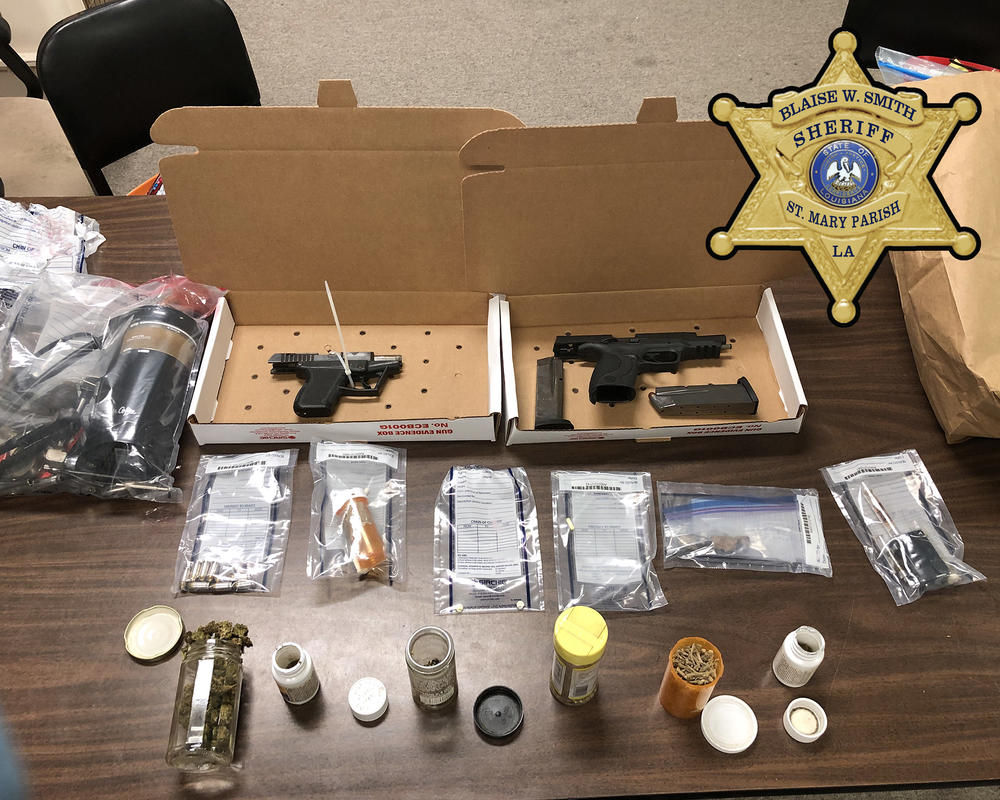Illegal weapons seized