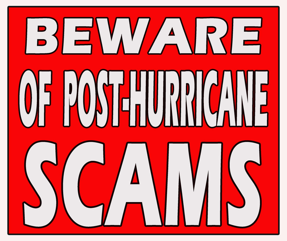 Hurricane Scam