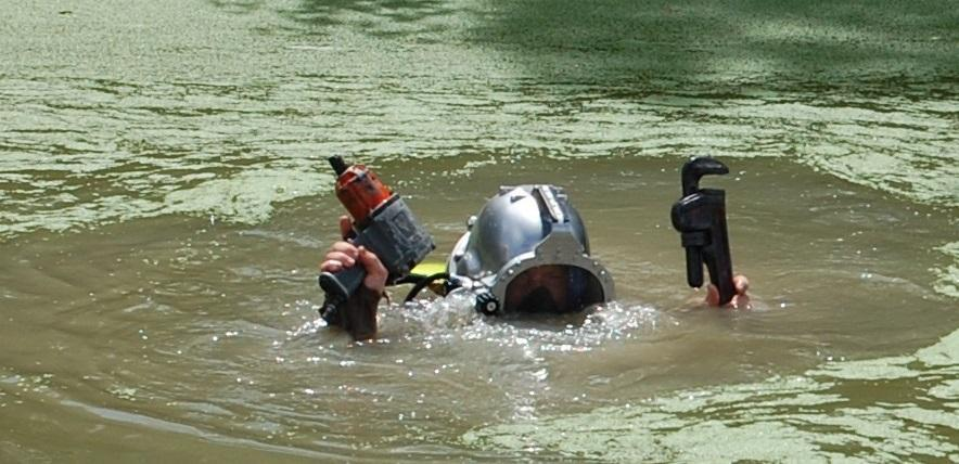 St. Mary Parish Sheriff's Office certified divers recovered several thousands of dollars
