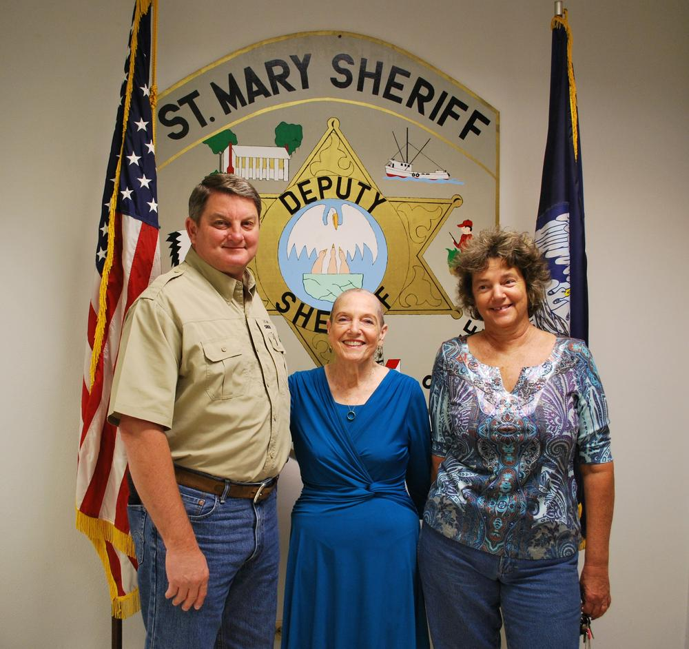 Broussard Family with Sheriff Hebert.jpg